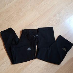 Adidas Cropped Leggings (lot of 2)